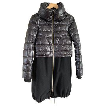 Herno \N Black Wool Coats