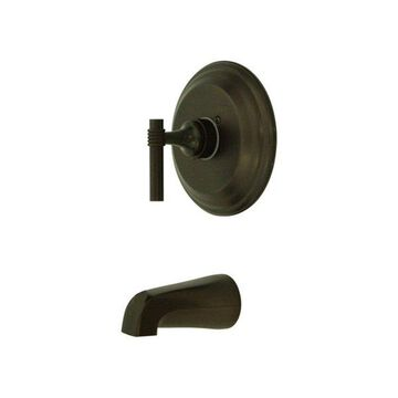 Kingston Brass Milano Single Handle Tub Faucet, Oil Rubbed Bronze