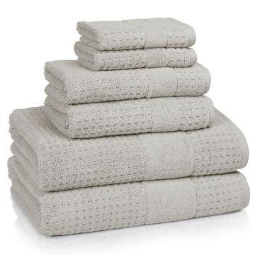 Kassatex Turkish Hammam Textured 6-piece Bath Towel Set
