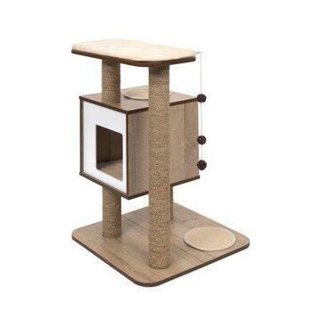 VESPER Cat Furniture, Base- Oak