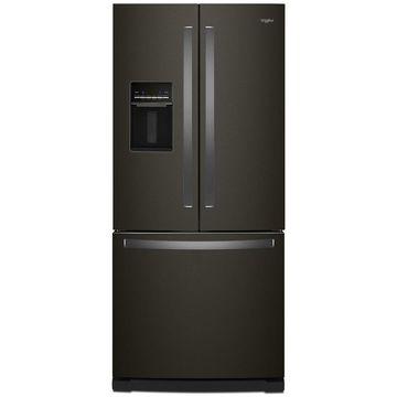 Whirlpool Black Stainless Steel French Door Refrigerator