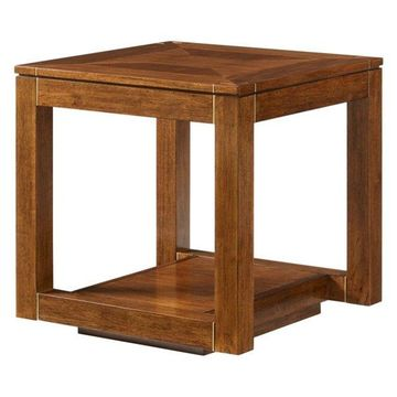 Stanley Panavista Floating Parsons End Table in Goldenrod 704-15-09