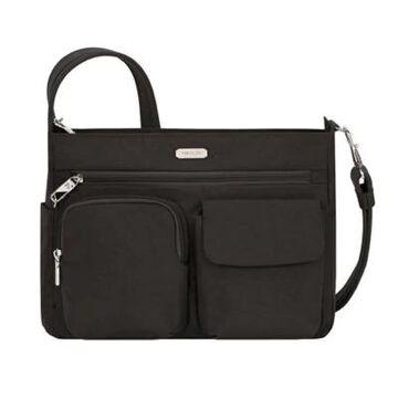 Travelon Anti-Theft Essentials Patch Pocket Crossbody In Black