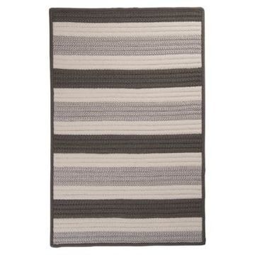 Colonial Mills Stripe It Silver 2' x 3' Accent Rug Bedding