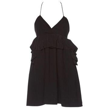 Victoria Beckham Black Wool Dresses