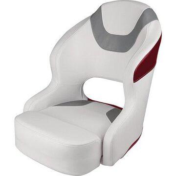 Wise 3314-1774 Baja Bucket Seat, White/Grey/Red