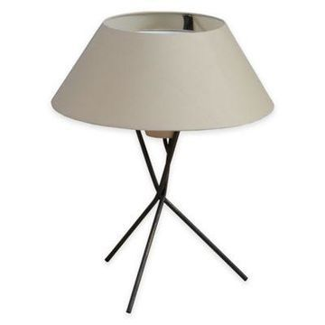 INK+IVY Trio Table Lamp in Black