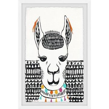 Marmont Hill Play with Sphynx Framed Wall Art