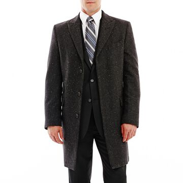 Stafford Donegal Tweed Topcoat