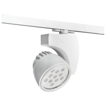 WAC Lighting WTK-LED27F-40 LEDme Reflex Pro Head Track Lighting, White