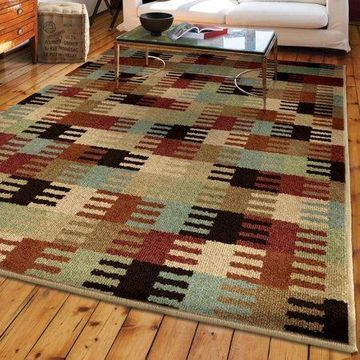 Orian Rugs Geometric Wichita Multi-Colored Area Rug