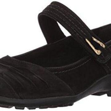 Walking Cradles Women's Hayden Loafer, Black Roughout Leather, 8 M US