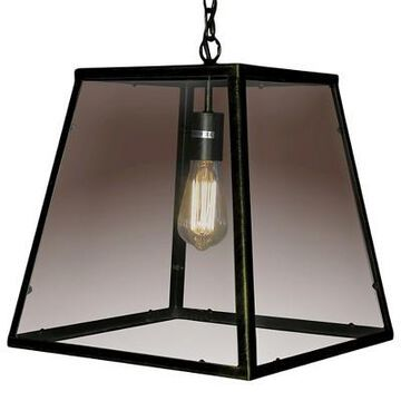 Warehouse Of Tiffany 16 X 16 X 16 Inch Black Ceiling Lights