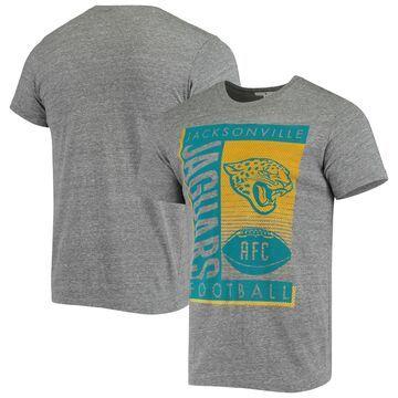 Jacksonville Jaguars Junk Food Touchdown Tri-Blend T-Shirt Heathered Gray