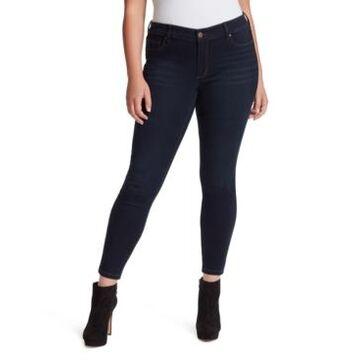 Jessica Simpson Trendy Plus Size Kiss Me Super-Skinny Jeans
