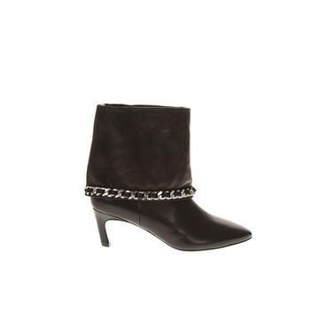 Marc Ellis Black Leather Ankle Boots