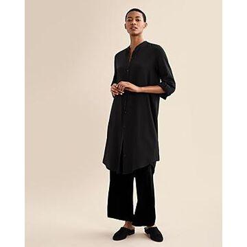 Eileen Fisher Chiffon Tunic Shirt