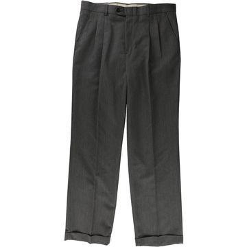 Geoffrey Beene Mens Textured Dress Pant Slacks