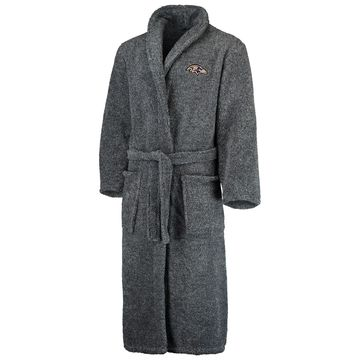 Baltimore Ravens Concepts Sport Trifecta Robe - Charcoal