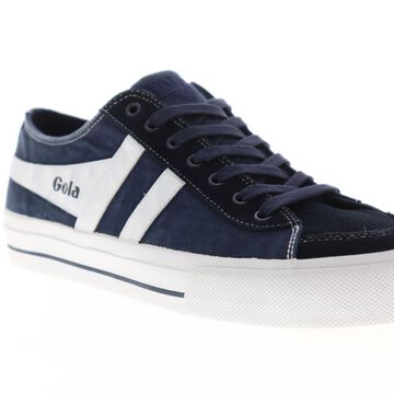 Gola Quota II Navy White Mens Low Top Sneakers