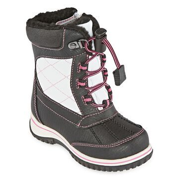 Totes Toddler Girls Kindra Fleece Lined Insulated Winter Boots