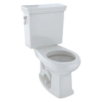 Toto Promenade Round Two-Piece Toilet, 1.6 GPF CST423SF#11 Colonial White