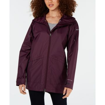 Arcadia Omni-Tech™ Water-Repellent Hooded Jacket