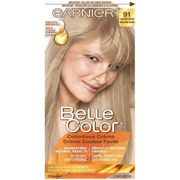 Garnier Belle Color ColorEase Creme, Light Ash Blonde 91