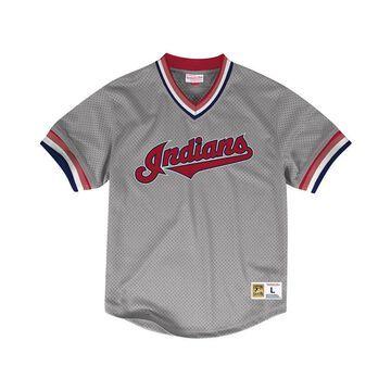 Men's Cleveland Indians Mesh V-Neck Jersey
