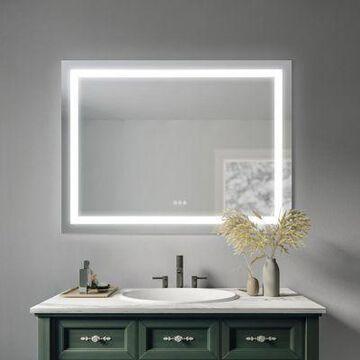 Sunjoy Luxury LED Mirror, 48 in. x 36 in., C109004700