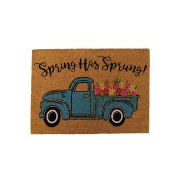 Elrene Spring Has Sprung Farm Truck Coir Doormat