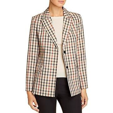 Vero Moda Checked Belted Blazer