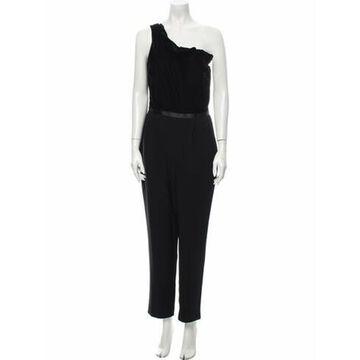 One-Shoulder Jumpsuit w/ Tags Black
