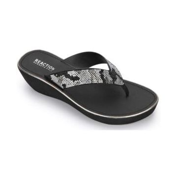 Kenneth Cole Reaction Women's Fine Glass Jewel Thong Sandal Women's Shoes