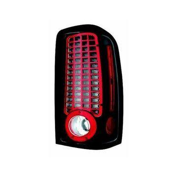 IPCW 00-06 Chevy Suburban/Tahoe/GMC Yukon/Denali LED Tail Lamps Black LEDT-304CB