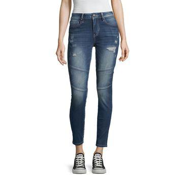 Ymi Womens Mid Rise Skinny Fit Jean - Juniors