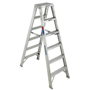 Werner T370 6-ft Aluminum Type 1A - 300 lbs. Capacity Twin Step Ladder