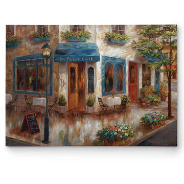 Wexford Home Nan 'Le Petit Cafe' Canvas Wall Art