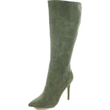 Charles by Charles David Womens Professional Knee-High Boots Cotton Stretch
