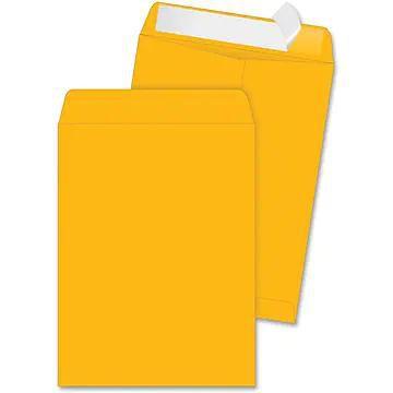 "Quality Park Durable Kraft Catalog Envelopes, 10"" x 13"", 250/Ct"