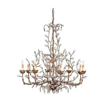 Currey and Company 9884 Crystal Bud Chandelier - Cupertino