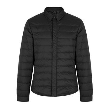 Black Label Jackson black quilted jacket