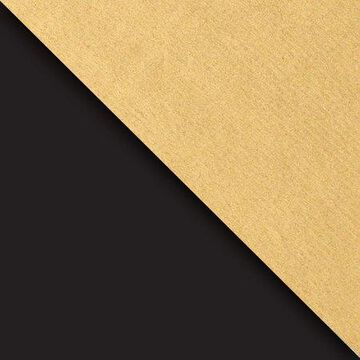 JAM Paper Industrial Size Bulk Wrapping Paper Rolls, Two,Sided Black & Gold Kraft, 1/2 Ream (834 Sq Ft), Sold Individually