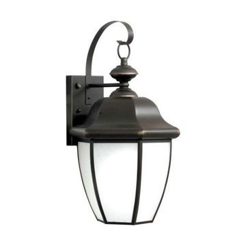 Forte Lighting 10004-01 Energy Efficient Sconces Outdoor Wall Sconce