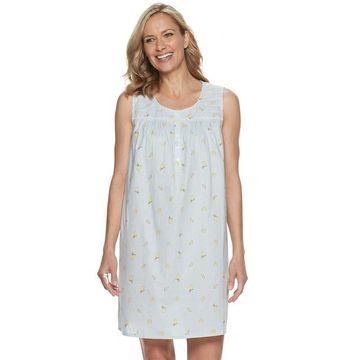 Women's Croft & Barrow Pintuck Nightgown