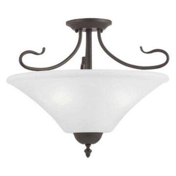 Thomas Lighting Elipse - Three Light Semi-Flush