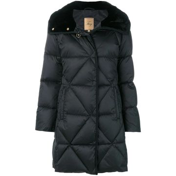 quilted padded parka