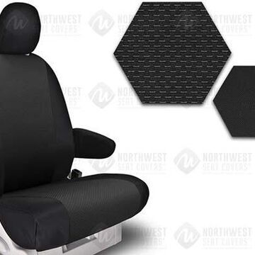 NorthWest OEM Seat Covers, 5th-Row Seat Covers in Black, CA21