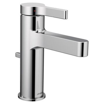Moen Vichy Chrome 1-handle Single Hole WaterSense Bathroom Sink Faucet with Drain