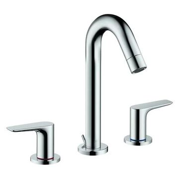 Hansgrohe 71533 Logis Widespread Bathroom Faucet, Chrome